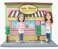 Pastry Chef Cake Toppers, Bakery Theme Cake Toppers and Gifts