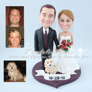 Sweet Wedding Cake Toppers, Sweethearts Cake Toppers