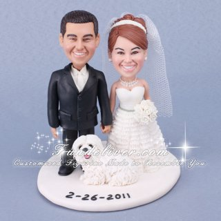 Unique Wedding Cake Topper Figurines