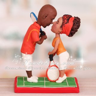 tennis wedding cake topper tennis cake topper tennis players theme figurines 20798