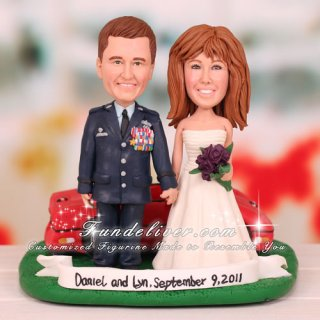 Corvette Convertible Wedding Cake Toppers