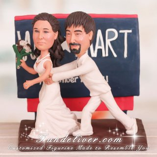 The Walmart Love Story Wedding Cake Toppers