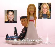Marine Cake Toppers, Marine Corps Wedding Cake Toppers