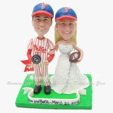 Philadelphia Eagles Wedding Cake Topper, Philadelphia Eagles Cake Topper