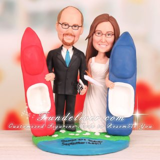 Accountant and Executive Assistant Cake Toppers