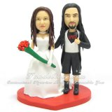 Slayer Wedding Cake Toppers, Slayer Cake Toppers