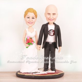 Florida State Seminoles Football Wedding Cake Toppers