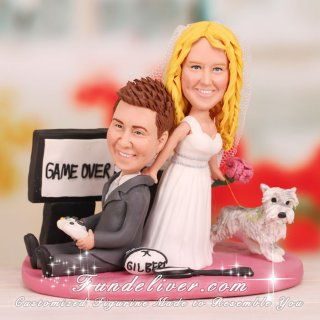 Wedding Cake Topper for Xbox Gamers
