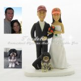 Cleveland Browns Wedding Cake Toppers, Indiana Hoosiers Cake Toppers