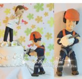 Tree Surgeon Wedding Cake Toppers, Tree Surgeon Cake Toppers