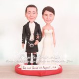 Scottish Wedding Cake Toppers