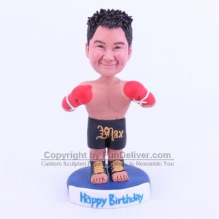 Boxing Cake Topper, Boxing Birthday Decoration