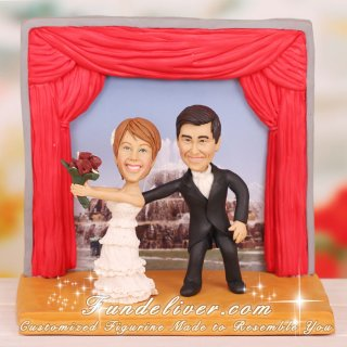Producer and Actor Theatre Theme Cake Toppers