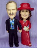 25th Anniversary Wedding Cake Topppers and Figurines