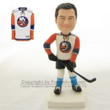 New York Islanders Cake Topper, Personalized NY Islanders Birthday Gift