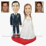 Police Officer Cake Toppers, Policeman Cops Occupation Cake Toppers