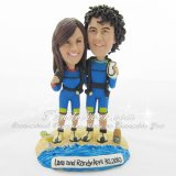 Scuba Diver Cake Toppers, Scuba Diving Wedding Cake Toppers Figurines