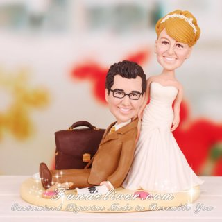 Salesman Sales Manager Cake Toppers