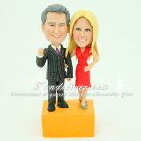 Custom Made 60th Anniversary Figurines Gifts Cake Toppers